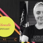 Talkline Advocate Spotlight: K.C.!