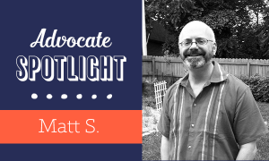 Talkline Advocate Spotlight: Matt S!