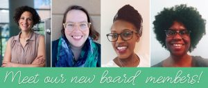 Welcome to Our New Board Members!