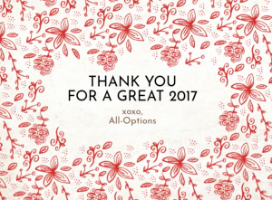 Thank You for an Outstanding 2017