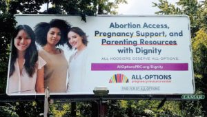 All-Options Billboards Go Up in Indiana